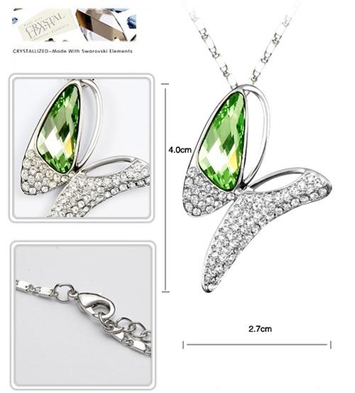 baza.vn: dây chuyền bướm điệu