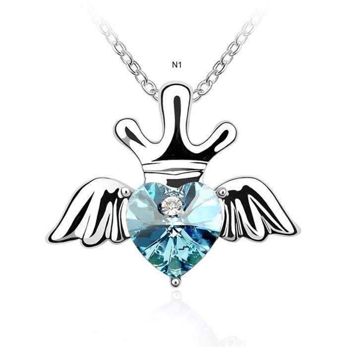 dây chuyền vương miện thiên thần dành cho những quý cô sang trọng