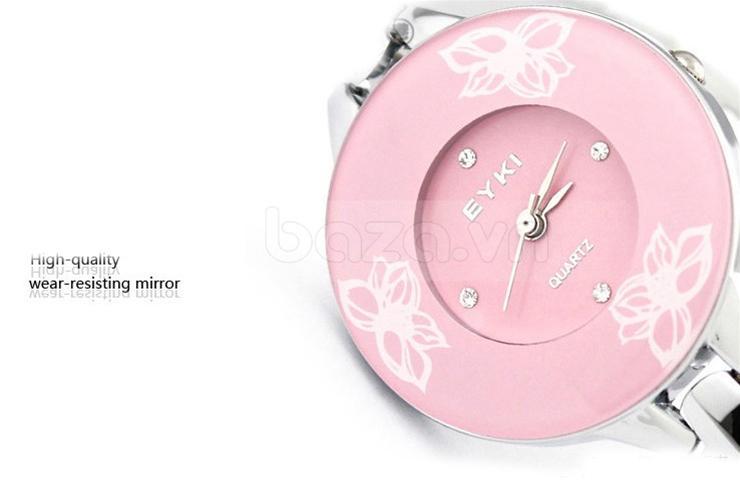 Baza.vn: Đồng hồ thời trang Phong Cách Retro đính đá pha lê