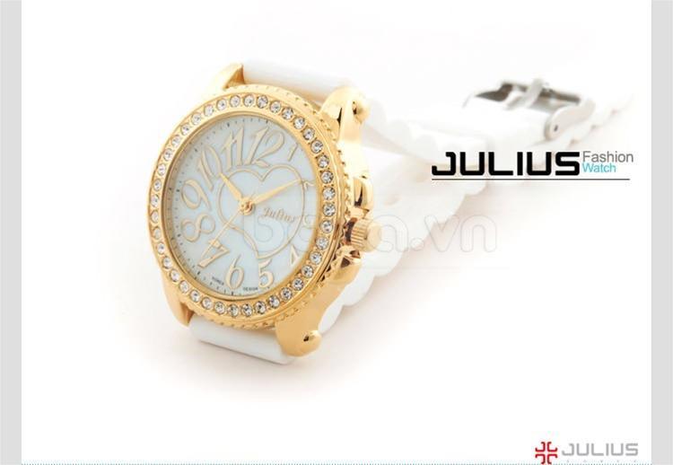 baza.vn:Đồng hồ Julius Hàn Quốc JA560 màu vàng xa hoa