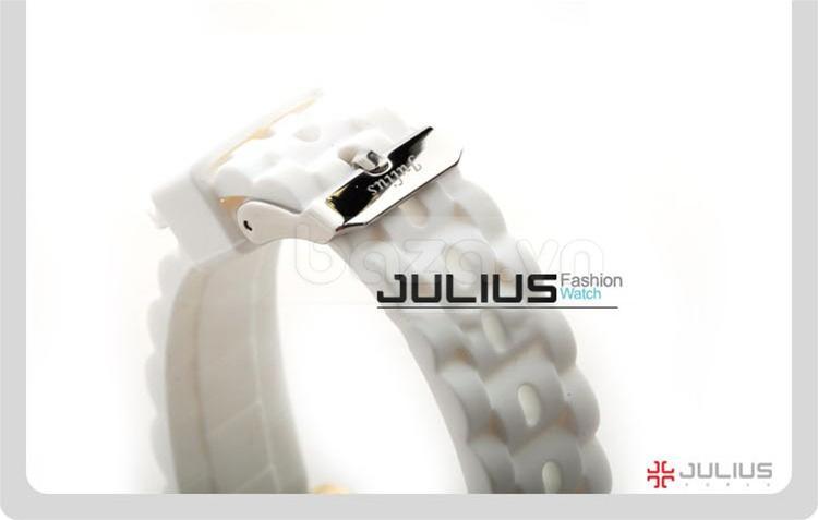 baza.vn:Đồng hồ Julius Hàn Quốc JA560 màu trắng hiền hòa