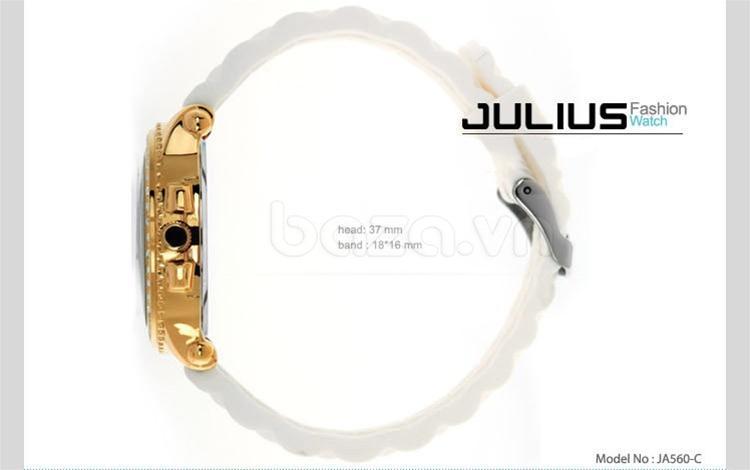 baza.vn:Đồng hồ Julius Hàn Quốc JA560 hoàn hảo mọi góc độ