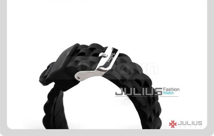baza.vn:Đồng hồ Julius Hàn Quốc JA560 màu đen bí ẩn