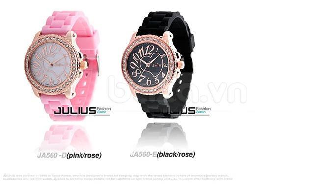 baza.vn:Đồng hồ Julius Hàn Quốc JA560 nhiều màu sắc