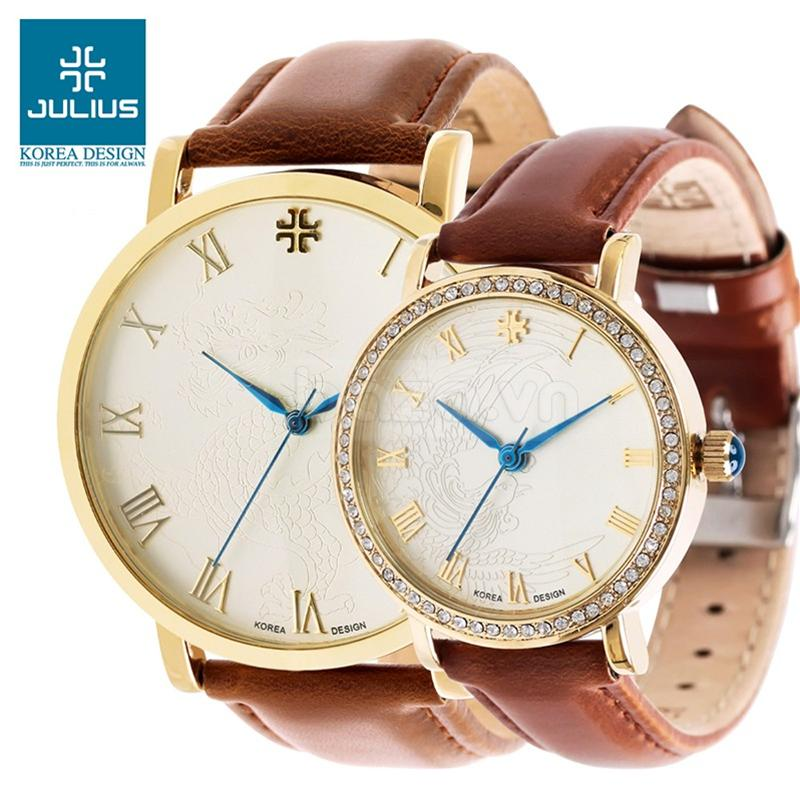 baza.vn: Đồng hồ Julius Mã JA585M trang trí tinh xảo