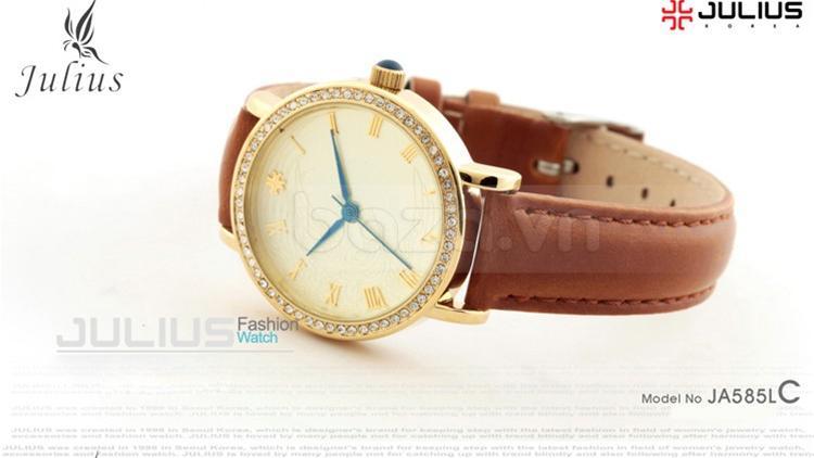 baza.vn: Đồng hồ Julius Mã JA585M dây da thời trang