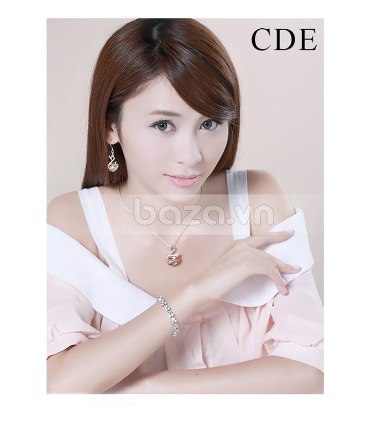 Baza.vn: Hoa Tai Thiên Nga Nữ Hoàng chất lượng trang sức nứ cao cấp
