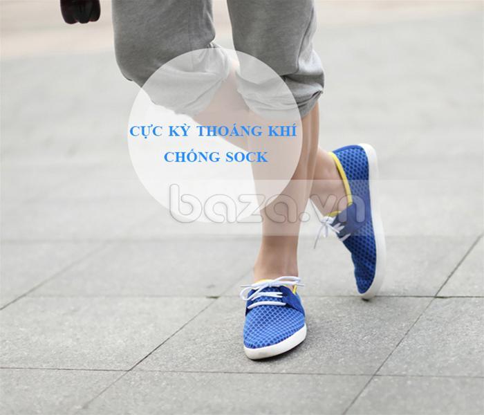 Giày nam CDD D666 trẻ trung với quần short