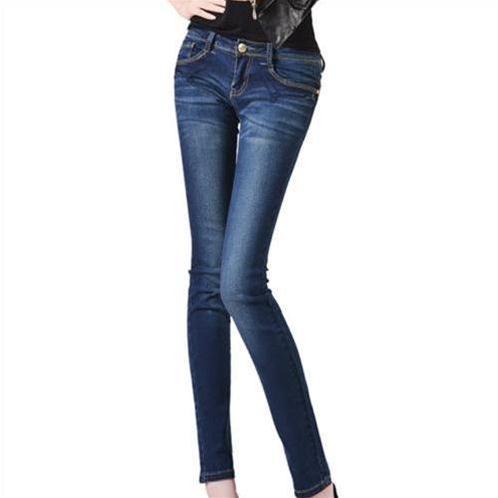 Quần Jeans nữ Bulkish ống bút chì