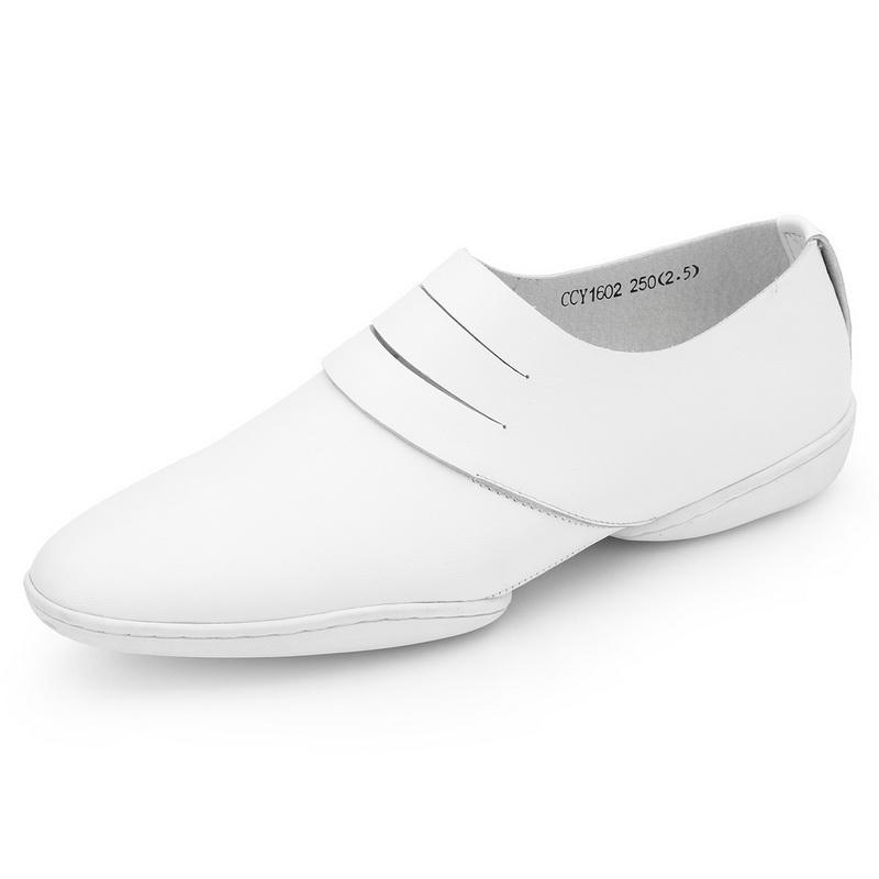 Giày lười trơn lưỡi xẻ Olunpo