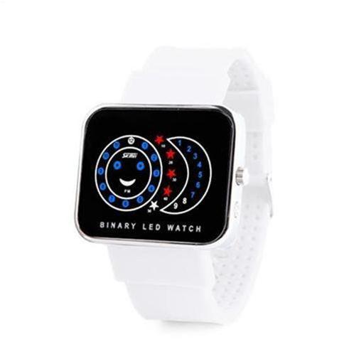 Đồng hồ nữ Skmei 0982 mặt chữ nhật