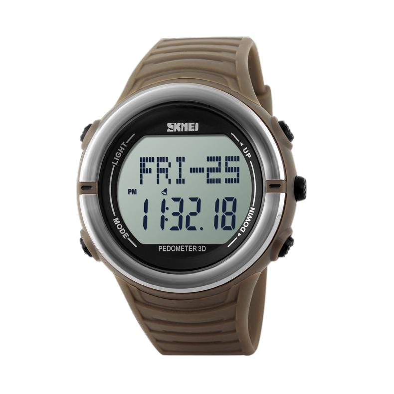 Đồng hồ thể thao đếm bước chân nam Skmei 1111