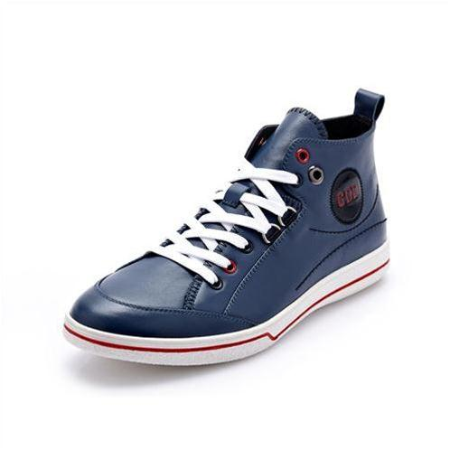 Giày da nam cổ cao CDD 1019 cá tính