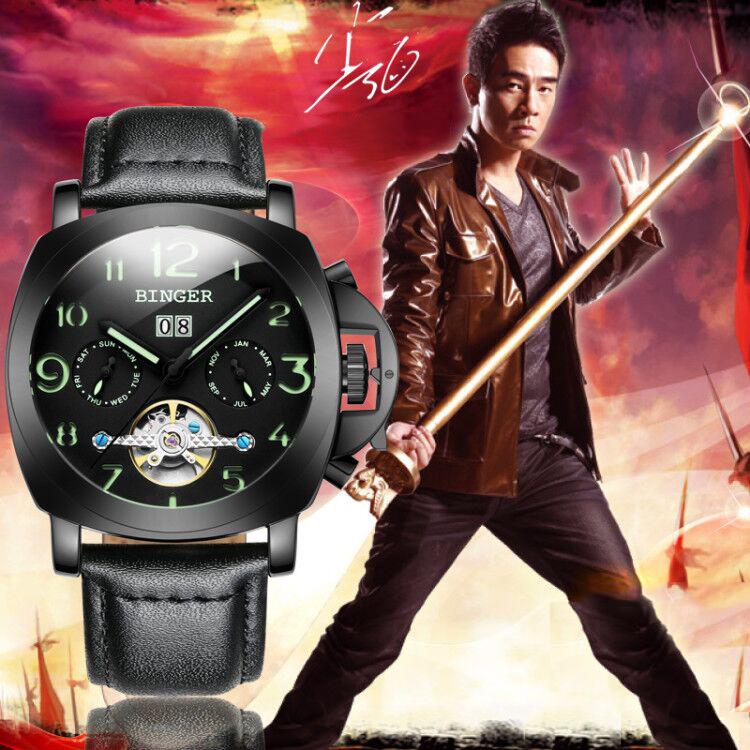 Đồng hồ nam Binger phong cách thể thao