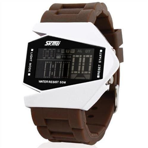 Đồng hồ LED cá tính Skmei SK-0817 chiến đấu cơ