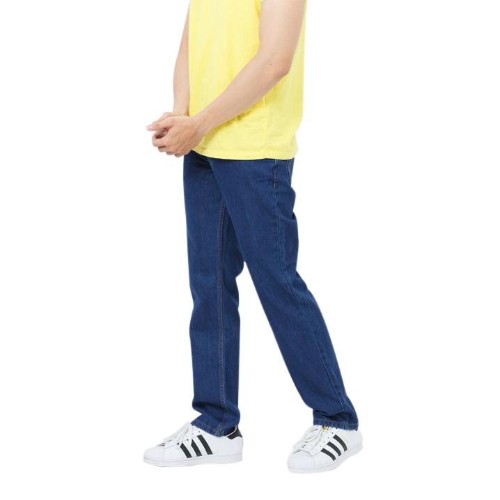 Quần jeans nam classic fit xanh nhạt Mattana