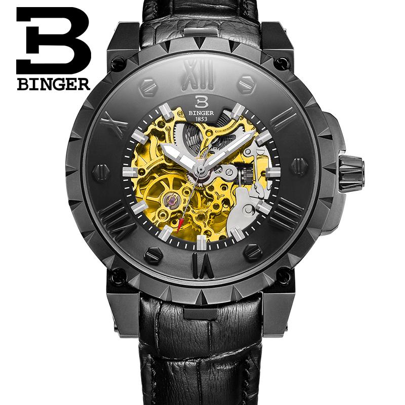 Đồng hồ cơ tự động nam Binger