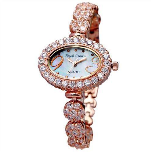Đồng hồ nữ Royal Crown 3807 gắn đá cao cấp