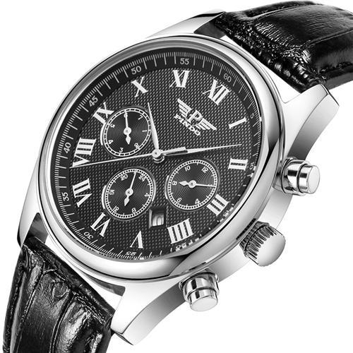 Đồng hồ nam Pindo PD-3006-11 6 kim thời trang
