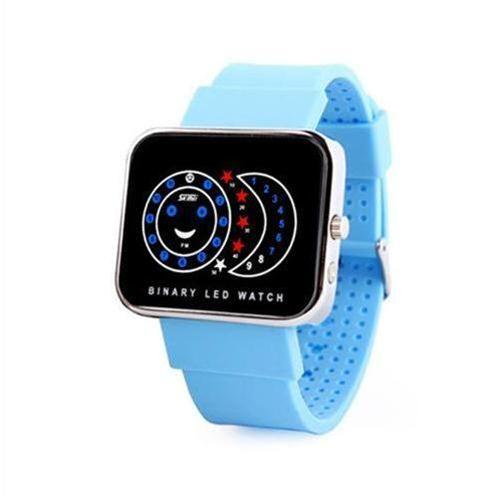 Đồng hồ điện tử nữ Skmei 0982 mặt đèn Led