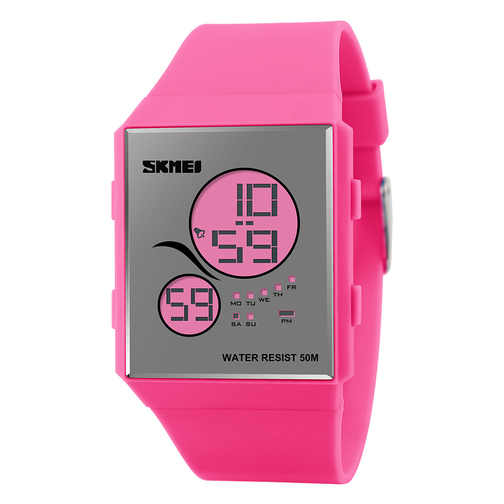 Đồng hồ điện tử Skmei Teddy bear siêu mỏng