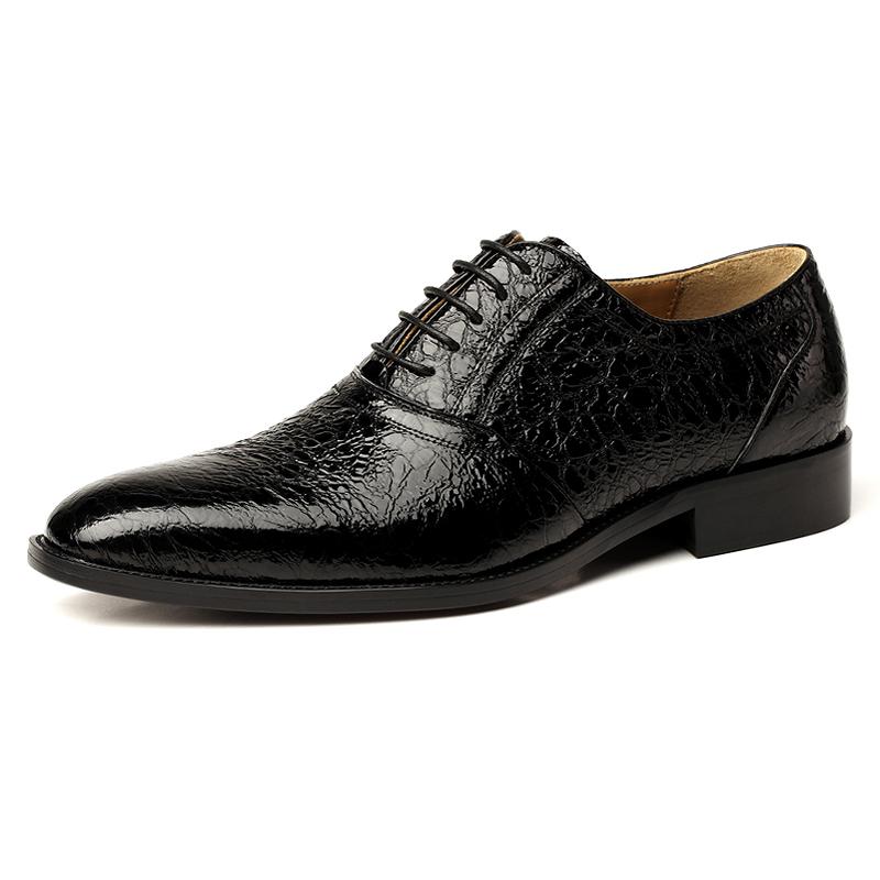 Giày da nam VANGOSEDUN VG78803 mũi nhọn cá tính