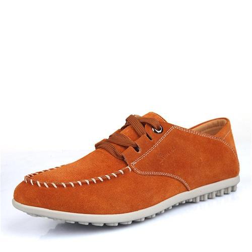 Giày nam da lộn Simier 1308