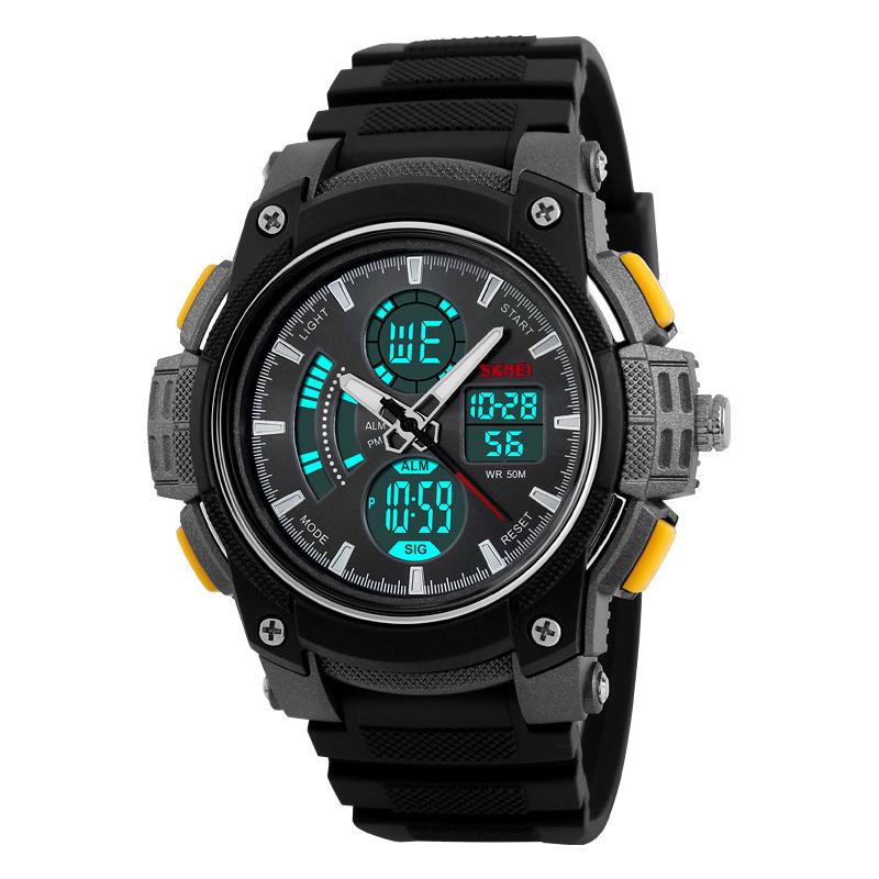 Đồng hồ điện tử nam SKMEI 4 mặt chức năng