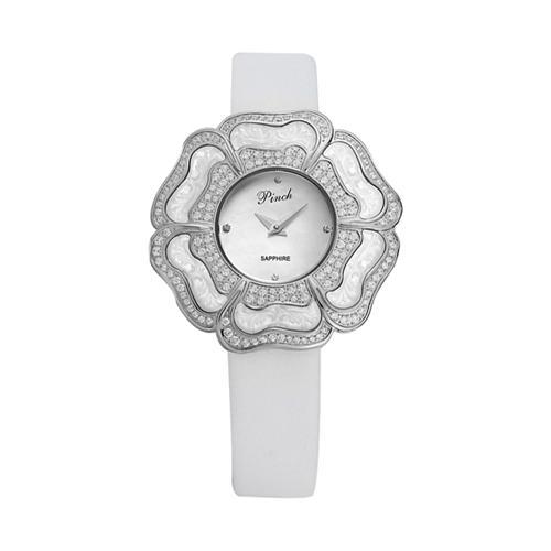 Đồng hồ thời trang nữ mặt hình hoa 6 cánh thời trang Pinch L9502