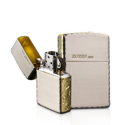 Bật lửa chạm khắc thủ công Zorro Z28265B