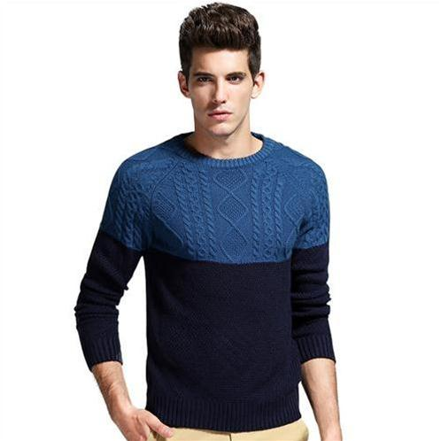 Áo len nam phối màu No1Dara