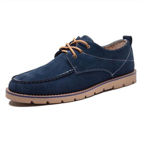 Giày nam Simier 6721 da lộn phong cách