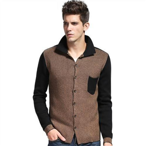 Áo len cardigan cổ bẻ cho nam No1Dara