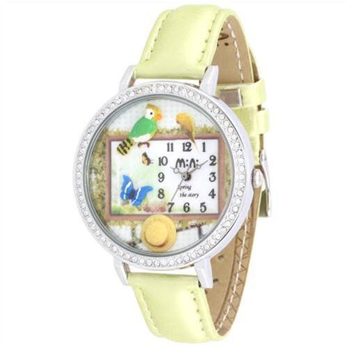 Đồng hồ nữ Mini MN1081 Hoa cỏ mùa xuân