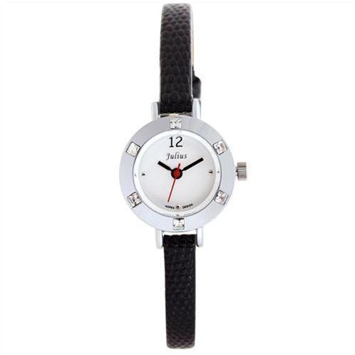 Đồng hồ nữ dây da màu sắc Julius JA-677