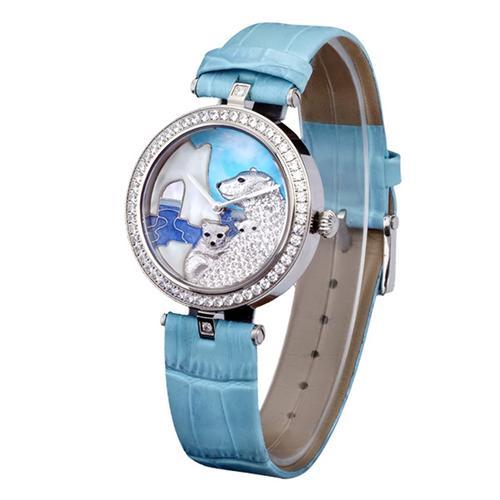 Đồng hồ nữ chạm hình thú ngộ nghĩnh Pinch L617