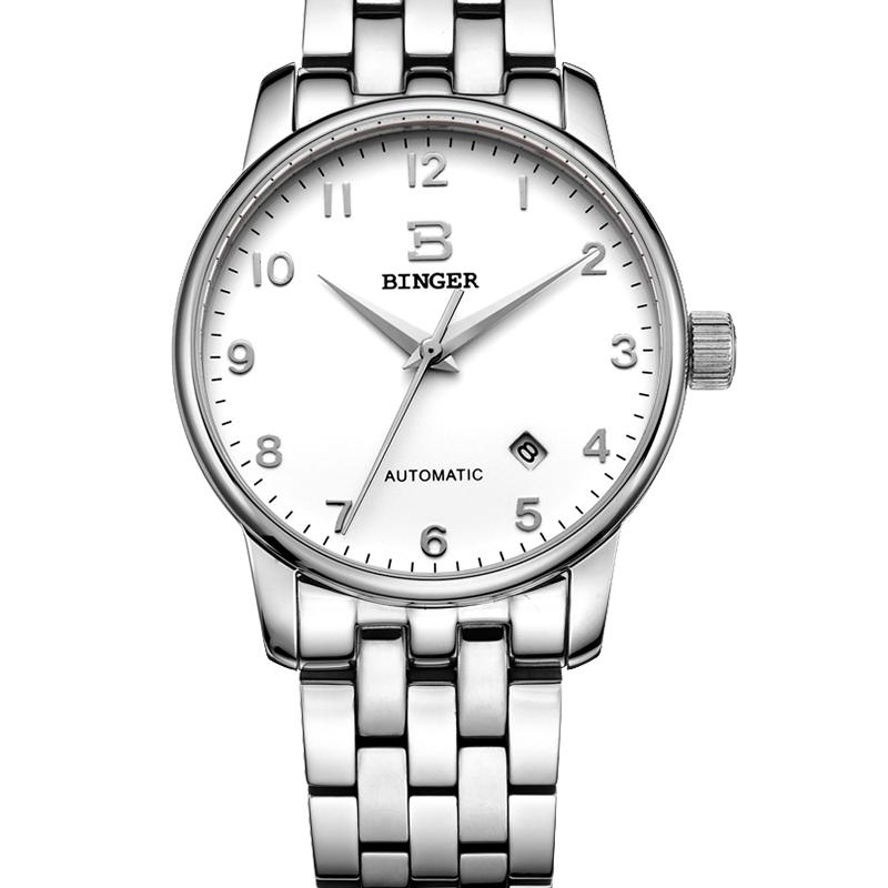 Đồng hồ nam Binger phong cách Vintage