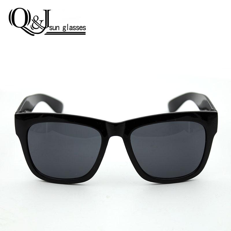 Kính mắt phân cực Q&J gọng Wayfarer  oversized