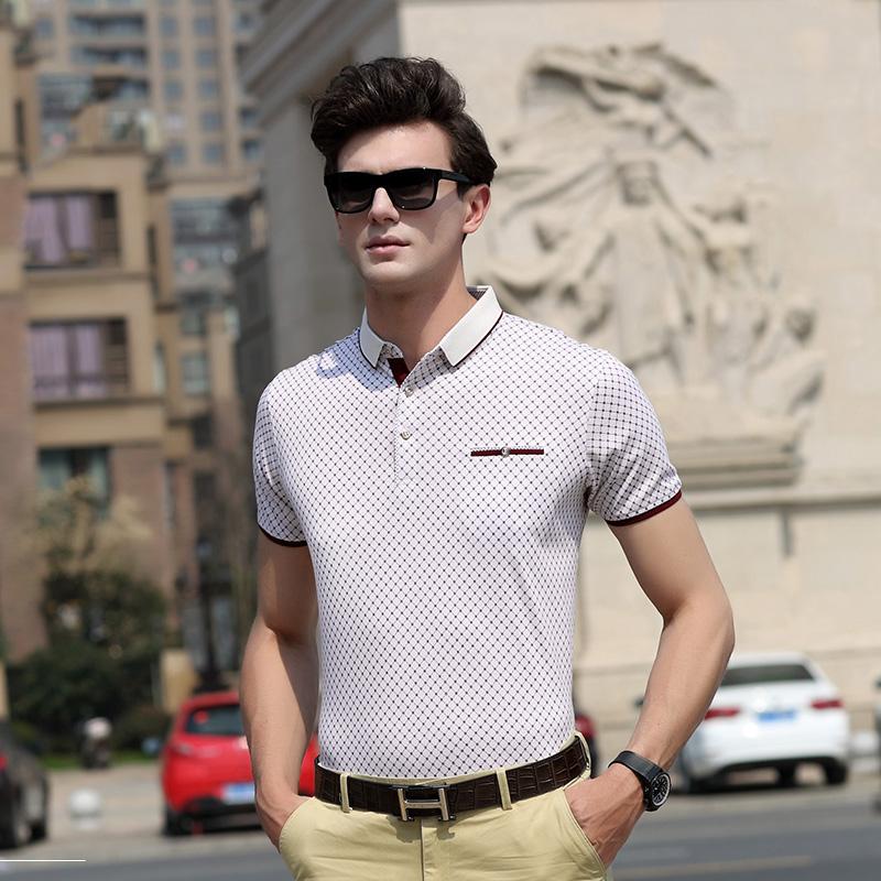 Áo polo ngắn tay ca rô viền màu Sunsus