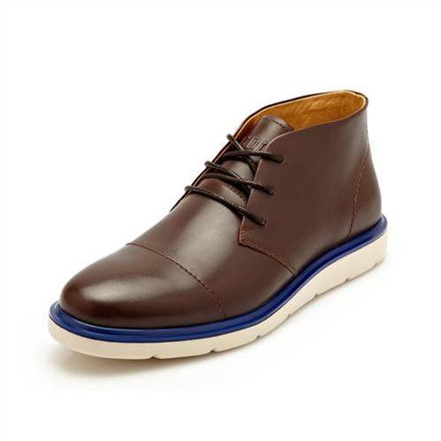 Giày da nam CDD 2323 viền đế màu sắc ấn tượng