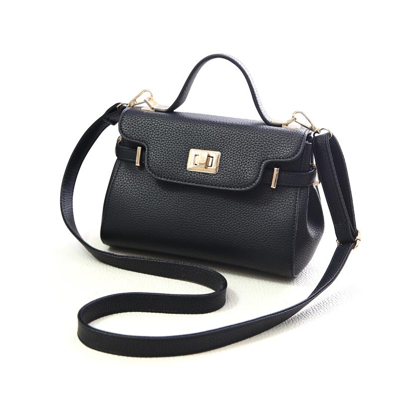 Túi satchel đai khóa xoay Balana