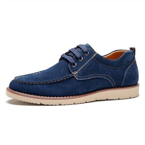 Giày nam Simier 6708 - Chất liệu da lộn