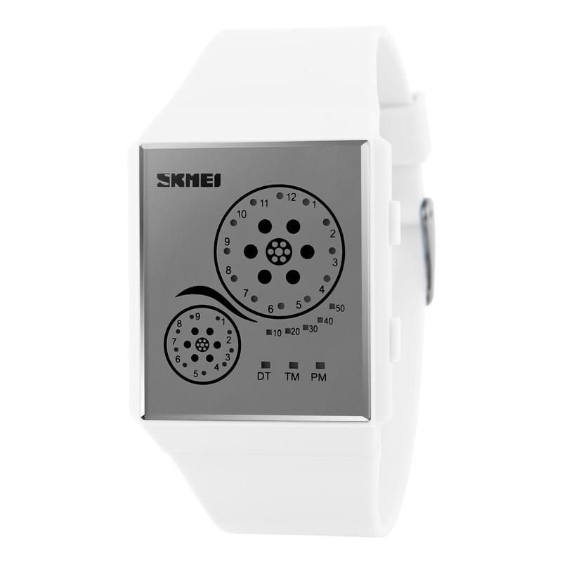 Đồng hồ điện tử Led Skmei cuộn phim siêu mỏng