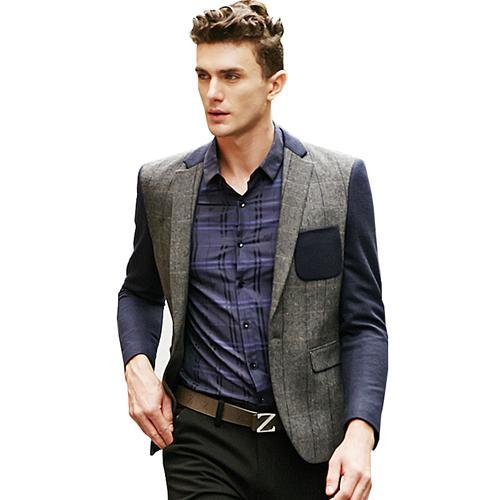 Áo vest nam phối màu thời trang Hàn Quốc ZZN