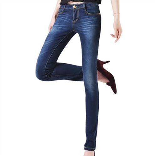 Quần Jeans nữ ống côn Bulkish