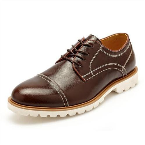 Giày da nam gót phẳng CDD 7776