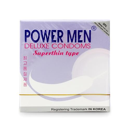 Bao cao su siêu mỏng Power Men