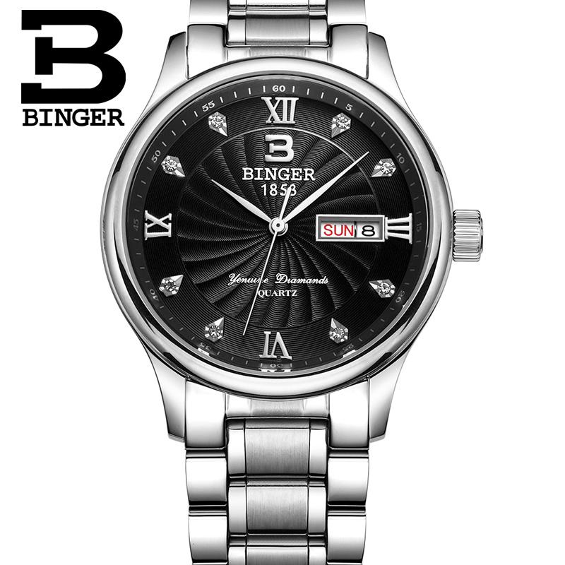 Đồng hồ doanh nhân nam Binger
