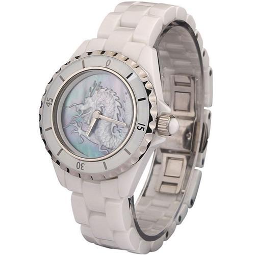 Đồng hồ nam khắc hình rồng Pinch 8005F tinh xảo