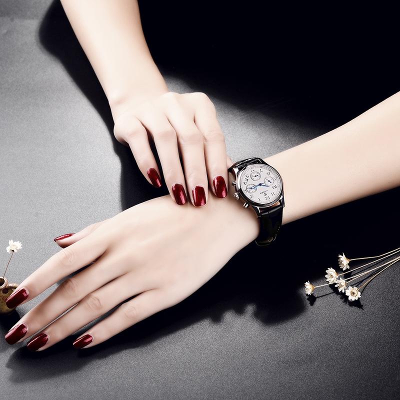 Đồng hồ nữ 6 kim Chronograph Vinoce